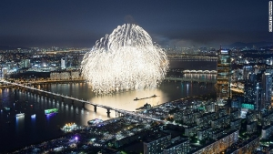 Incredible fireworks at Seoul's 'biggest event of the year'